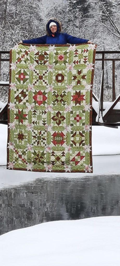 одеяло конкурса 12 месяцев