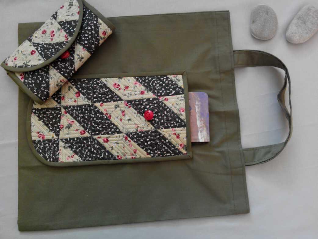 Удобная сумка шопер