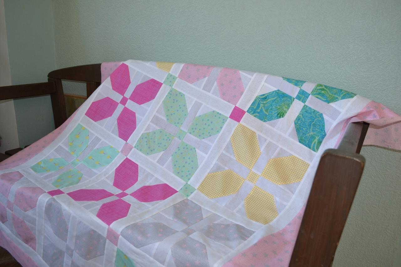 Детское одеяло Ветерок-вертушка